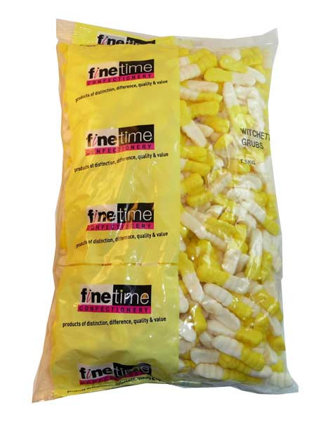 FineTime Witchetties Grubs, by FineTime,  and more Confectionery at The Professors Online Lolly Shop. (Image Number :2659)