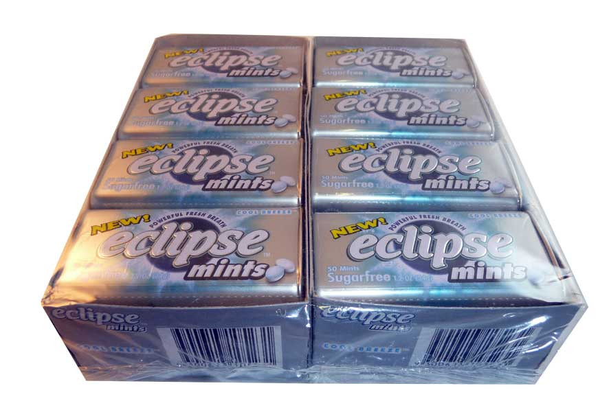 Eclipse Cool Breeze Mints, by Wrigley,  and more Confectionery at The Professors Online Lolly Shop. (Image Number :2640)