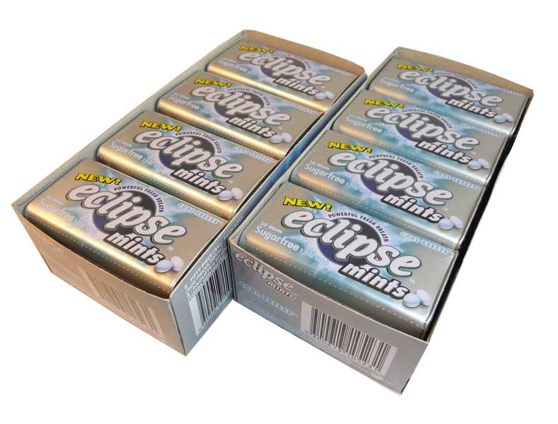Eclipse Cool Breeze Mints, by Wrigley,  and more Confectionery at The Professors Online Lolly Shop. (Image Number :2641)