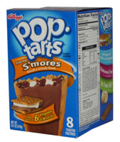 Kelloggs Pop Tarts - Frosted S mores, by Kelloggs Pop Tarts,  and more Snack Foods at The Professors Online Lolly Shop. (Image Number :2764)