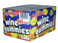 Wine Gummies, by Swizzles Matlow,  and more Confectionery at The Professors Online Lolly Shop. (Image Number :2789)