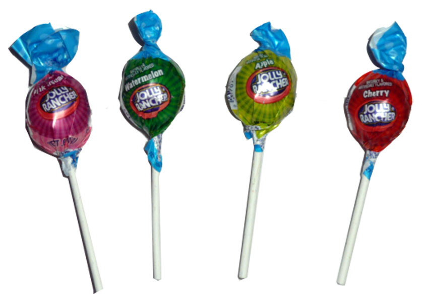 Jolly Rancher Lollipops, by Jolly Rancher,  and more Confectionery at The Professors Online Lolly Shop. (Image Number :2802)