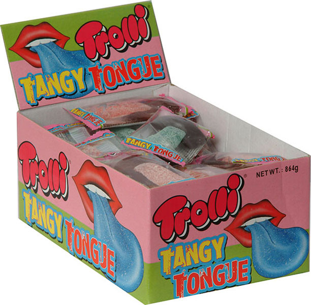 Trolli Tangy Tongues, by Trolli/Universal Candy,  and more Confectionery at The Professors Online Lolly Shop. (Image Number :7375)