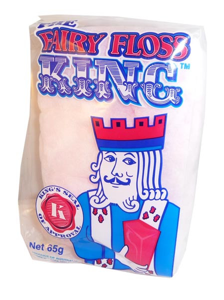 The Fairy Floss King, by The Fairy Floss King,  and more Confectionery at The Professors Online Lolly Shop. (Image Number :2884)