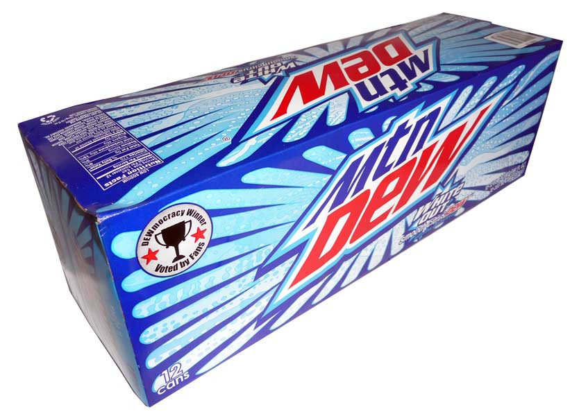 Mountain Dew White Out, by Mountain Dew,  and more Beverages at The Professors Online Lolly Shop. (Image Number :2869)