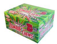 Zombie Chews - Sour Apple (Our main image of this Confectionery)