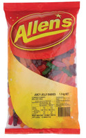 Allens Juicy Jelly Babies (1.3kg bag)