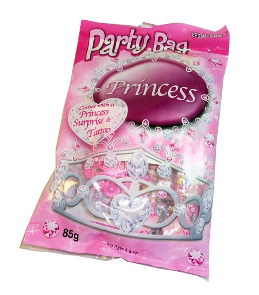 Au some Princess Party Bags, by Candy Brokers,  and more Confectionery at The Professors Online Lolly Shop. (Image Number :3056)