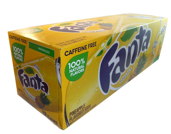 Fanta - Pineapple, by Dr Pepper,  and more Beverages at The Professors Online Lolly Shop. (Image Number :3070)