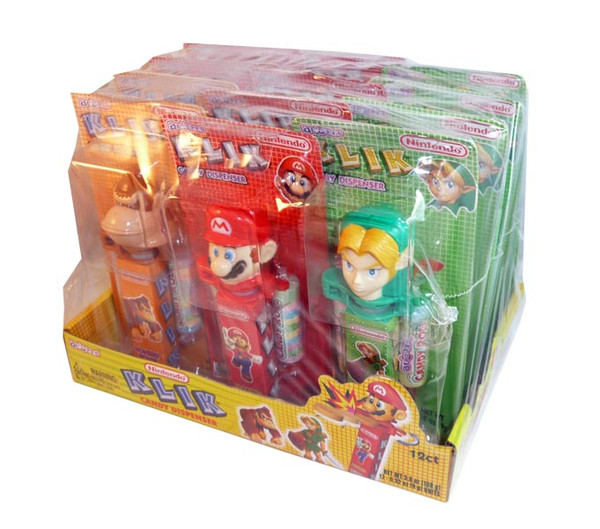 Nintendo Klik Candy Dispenser, by Candy Brokers,  and more Confectionery at The Professors Online Lolly Shop. (Image Number :3083)