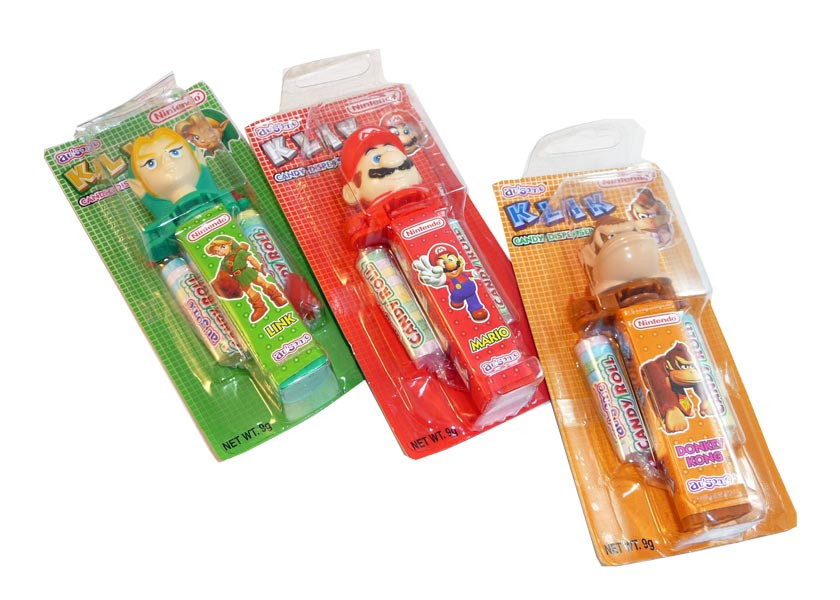 Nintendo Klik Candy Dispenser, by Candy Brokers,  and more Confectionery at The Professors Online Lolly Shop. (Image Number :3084)