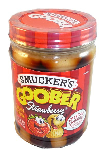 Smucker s Goober - Strawberry, by Smuckers Goober,  and more Snack Foods at The Professors Online Lolly Shop. (Image Number :3085)