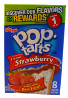 Kelloggs Pop Tarts - Frosted Strawberry, by Kelloggs Pop Tarts,  and more Snack Foods at The Professors Online Lolly Shop. (Image Number :3190)