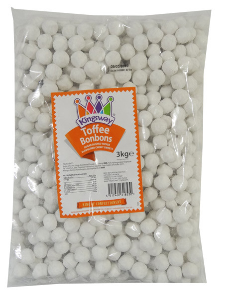 Bon Bons Toffee, by Kingsway,  and more Confectionery at The Professors Online Lolly Shop. (Image Number :9132)