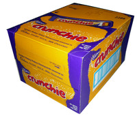 Cadbury Crunchie, by Cadbury,  and more Confectionery at The Professors Online Lolly Shop. (Image Number :3196)