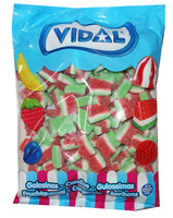 Vidal Watermelon Slices, by Candy Brokers/vidal,  and more Confectionery at The Professors Online Lolly Shop. (Image Number :7939)