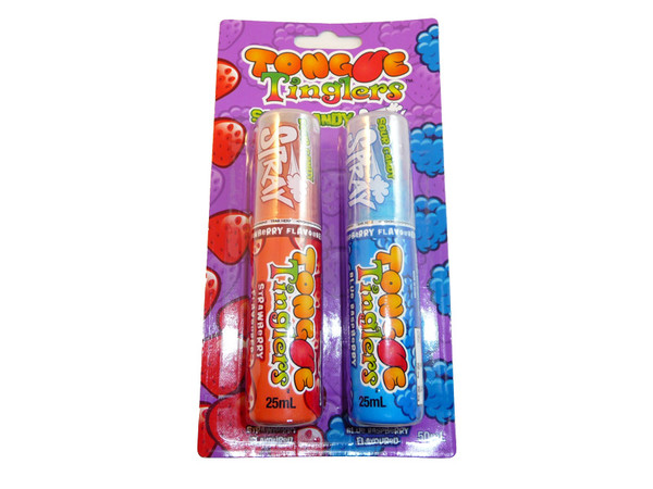 Tongue Tinglers Candy Spray, by Morris National,  and more Confectionery at The Professors Online Lolly Shop. (Image Number :3242)