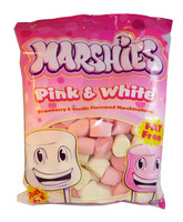 Marshies Pink and White Marshmallows (Our main image of this Confectionery)
