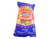 Movietime Multi Colour Popcorn, by Movietime,  and more Snack Foods at The Professors Online Lolly Shop. (Image Number :3209)