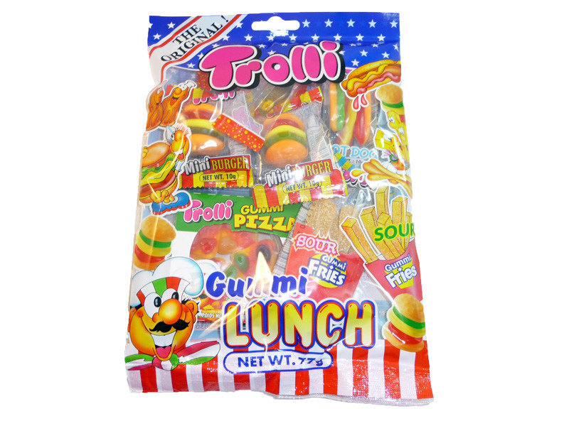 Trolli Gummi Lunch, by Trolli,  and more Confectionery at The Professors Online Lolly Shop. (Image Number :3294)