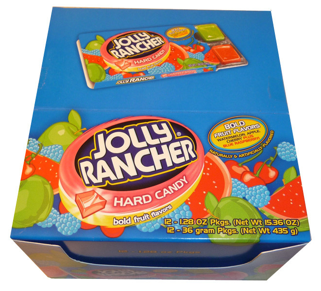 Jolly Rancher Hard Candy - Bold Fruit Flavours, by Jolly Rancher,  and more Confectionery at The Professors Online Lolly Shop. (Image Number :3372)
