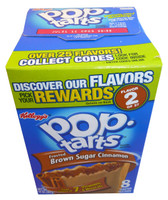 Kelloggs Pop Tarts - Frosted Brown Sugar Cinnamon, by Kelloggs Pop Tarts,  and more Snack Foods at The Professors Online Lolly Shop. (Image Number :3364)