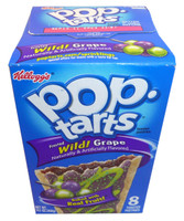 Kelloggs Pop Tarts - Frosted Wild Grape, by Kelloggs Pop Tarts,  and more Snack Foods at The Professors Online Lolly Shop. (Image Number :3362)
