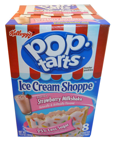 Pop Tarts - Frosted Strawberry Milkshake, by Kelloggs Pop Tarts ...