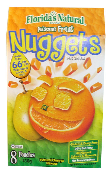 Au some Fruit Nuggets - Natural Orange Flavour, by Candy Brokers,  and more Confectionery at The Professors Online Lolly Shop. (Image Number :3404)