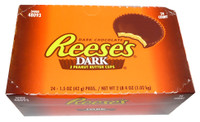 Reeses Dark 2 Pack Peanut Butter Cups, by Reeses,  and more Confectionery at The Professors Online Lolly Shop. (Image Number :3561)