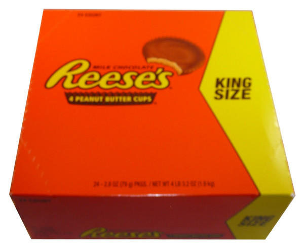 Reeses Peanut Butter 4 Cups Per Pack, by Reeses,  and more Confectionery at The Professors Online Lolly Shop. (Image Number :3560)