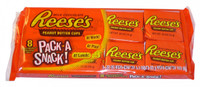 Reeses Peanut Butter Cups - Pack-A-Snack, by Reeses,  and more Confectionery at The Professors Online Lolly Shop. (Image Number :3383)