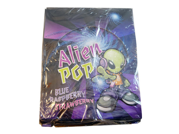 Alien Pop, by Universal Candy,  and more Confectionery at The Professors Online Lolly Shop. (Image Number :3353)