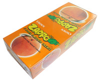 Zappo - Peach Chews, by Crown Confectionery,  and more Confectionery at The Professors Online Lolly Shop. (Image Number :3531)