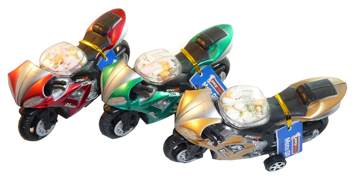 Moto GP, by Candy Brokers,  and more Confectionery at The Professors Online Lolly Shop. (Image Number :3555)