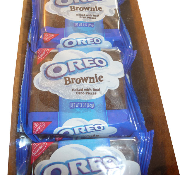 Oreo Brownies, by Nabisco,  and more Confectionery at The Professors Online Lolly Shop. (Image Number :3558)