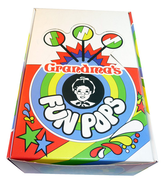 Grandma s Fun Pops, by Johnsons Confectionery,  and more Confectionery at The Professors Online Lolly Shop. (Image Number :3453)
