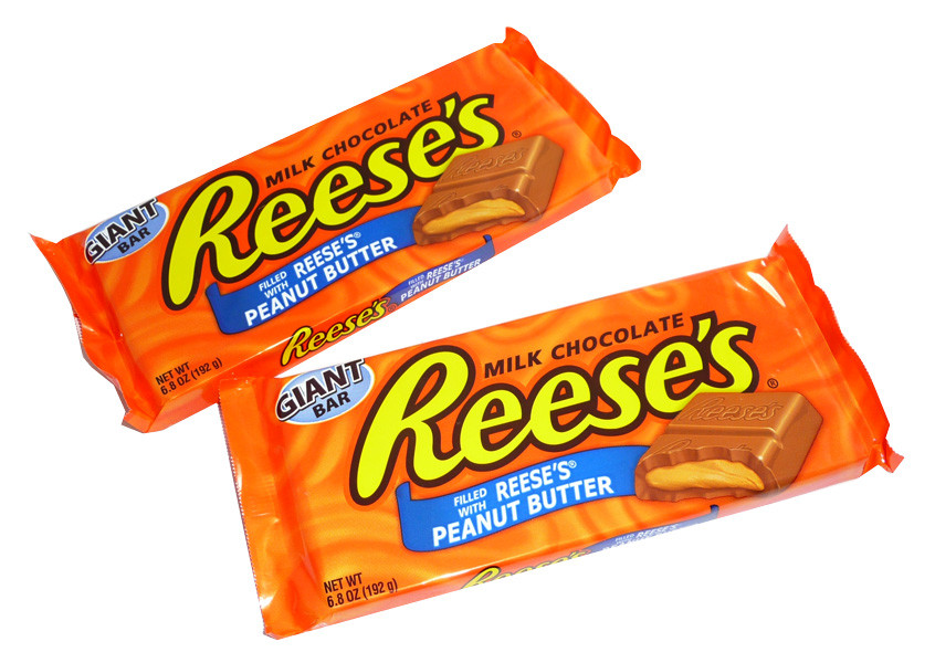 Reeses Giant  Bars, by Reeses,  and more Confectionery at The Professors Online Lolly Shop. (Image Number :3566)