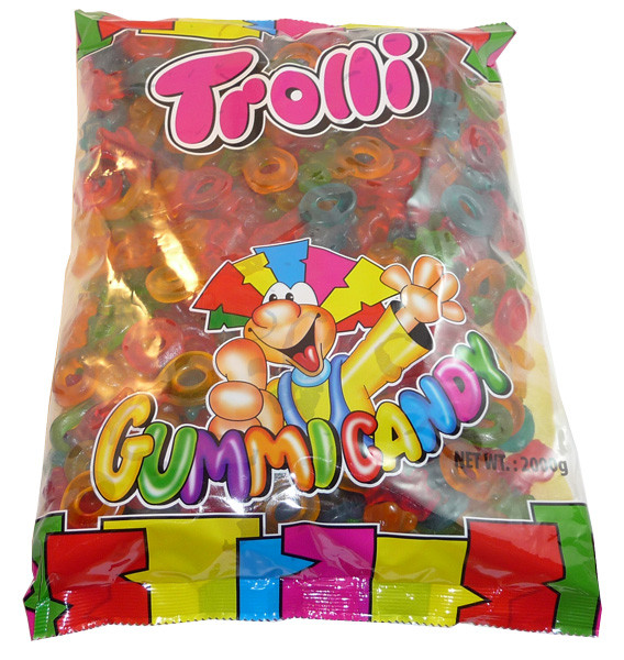 Trolli Gummi Bear Ring, by Trolli,  and more Confectionery at The Professors Online Lolly Shop. (Image Number :3498)