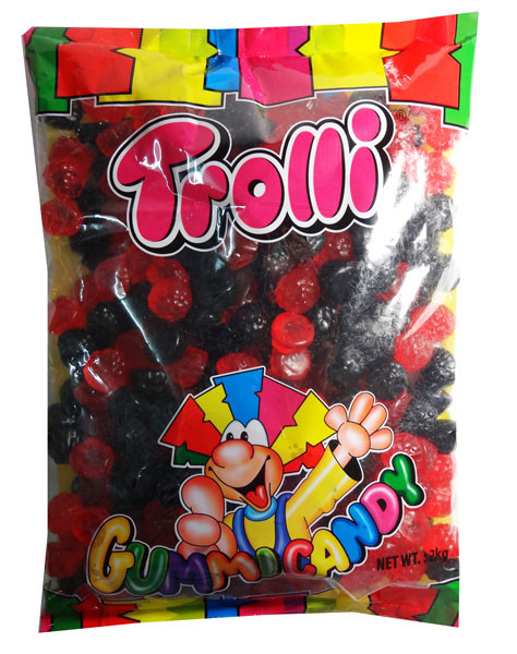 Trolli Raspberry and Blackberry, Oiled, by Trolli,  and more Confectionery at The Professors Online Lolly Shop. (Image Number :7896)