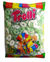 Trolli Apple Rings, by Trolli,  and more Confectionery at The Professors Online Lolly Shop. (Image Number :7871)