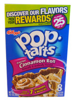 SHORT DATE - Kelloggs Pop Tarts - Frosted Cinnamon Roll (Our main image of this Beverage)