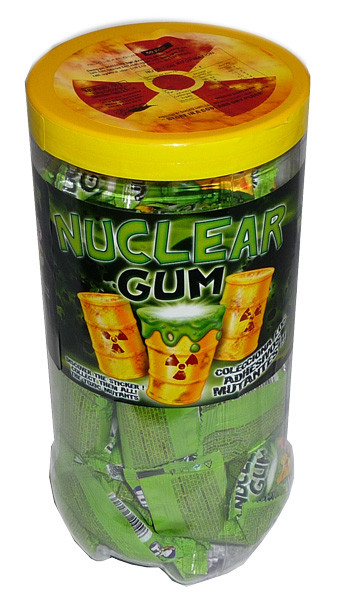 Nuclear Gum, by Confectionery Trading Company,  and more Confectionery at The Professors Online Lolly Shop. (Image Number :3715)