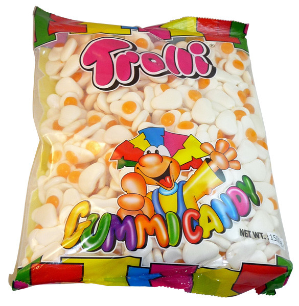 Trolli Fried Eggs, by Trolli,  and more Confectionery at The Professors Online Lolly Shop. (Image Number :4020)