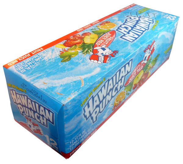 Hawaiian Punch, by Dr Pepper,  and more Beverages at The Professors Online Lolly Shop. (Image Number :3961)