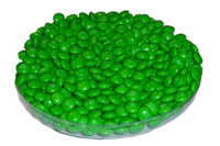 Single Colour M&M s - Green, by Mars,  and more Confectionery at The Professors Online Lolly Shop. (Image Number :3792)