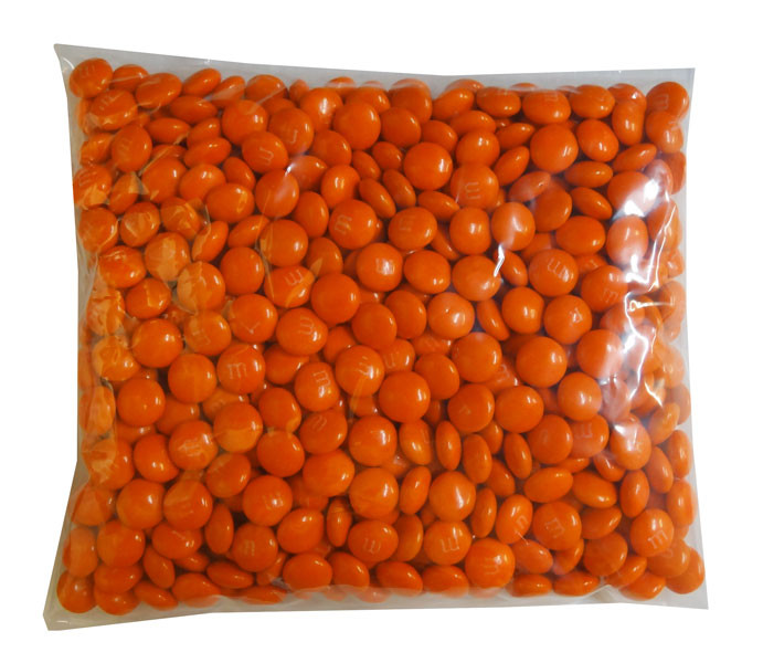 Single Colour M&M s - Orange, by Mars,  and more Confectionery at The Professors Online Lolly Shop. (Image Number :8283)
