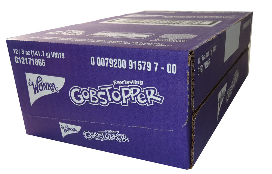Gobstoppers - Theatre box, by Wonka,  and more Confectionery at The Professors Online Lolly Shop. (Image Number :6139)