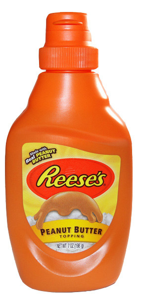 Reeses peanut butter topping, by Reeses,  and more Snack Foods at The Professors Online Lolly Shop. (Image Number :6397)