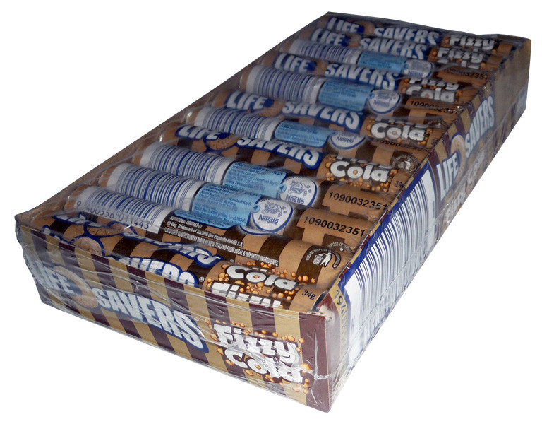 Life Savers - Fizzy Cola, by Life Savers,  and more Confectionery at The Professors Online Lolly Shop. (Image Number :4001)